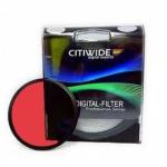 Цветной фильтр 72мм красный, CITIWIDE
