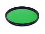 Цветной фильтр 77мм зеленый, CITIWIDE