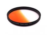 Цветной фильтр 77мм оранжевый градиент, CITIWIDE