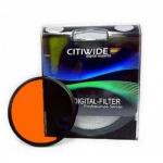 Цветной фильтр 77мм оранжевый, CITIWIDE