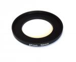 Повышающее степ кольцо 37-52мм для Canon, Nikon