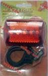 Задний фонарь для велосипеда JY-380