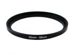 Повышающее степ кольцо 55-58мм для Canon, Nikon