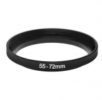 Повышающее степ кольцо 55-72мм для Canon, Nikon
