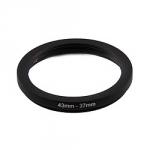 Понижающее степ кольцо 43-37мм для Canon, Nikon