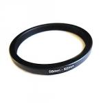 Понижающее степ кольцо 58-52мм для Canon, Nikon