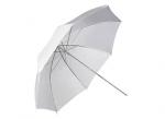 Фото зонт 101см белый, 40