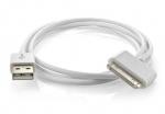 USB дата кабель для Iphone 2g 3g 4 4s, Ipod, белый