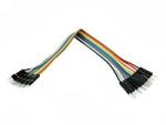 10x Dupont Дюпон кабель папа-папа 20 см для Arduino