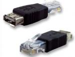 USB A Female to Ethernet RJ45 адаптер переходник