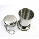 Складной стакан из нержавеющей стали (большой)