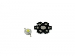 Светодиод белый на плате 1Вт 90-100лм 3.2-3.6В