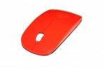 Супертонкая беспроводная радио мышь мышка, оранжевая