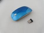 Супертонкая беспроводная радио мышь мышка, синяя