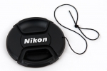 Крышка Nikon диаметр 77мм, с шнурком, на объектив