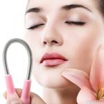 Ручной эпилятор для удаления нежелательных волос на лице