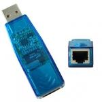 USB сетевая карта RJ45 TS6121A, реальных 100 Мб/c