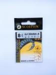 Крючок Scorpion AJI DOUSKI-R №8 (золотые)