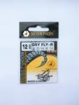 Крючок Scorpion DRY FLY-R №12