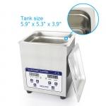 Ультразвуковая ванна SKYMEN JP-010S Металлический корпус, подогрев, дисплей, 2L/60W