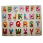 Обучающая деревянная доска Сегена, рамки вкладыши, англ. алфавит вторая версия