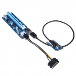 Райзер-адаптер MINI PCI-E USB 3.0 PCI-E Express 1x to16x  40 см