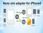 Nano-sim адаптер для iPhone 5