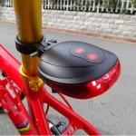 Задний фонарь велосипеда Laser tail light, красный