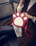Молодежная женская сумка след панды, лапа