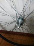 Заднее колесо для велосипеда на промподшипниках 26