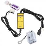 USB AUX MP3 WAV адаптер для магнитолы 12pin Audi, VW, Skoda, Seat
