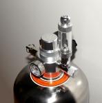 DIY СО2 генератор на стальном баллоне 4л с ЭМК