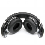 Беспроводные Bluetooth наушники гарнитура Bluedio T2+ MicroSD FM, черные