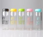 Бутылка My Bottle 500мл пластик прозрачная с дозатором