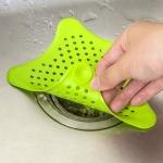 Захист зливу фільтр кухонної раковини силікон морська зірка
