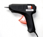 Клеевой пистолет, для стержней черный эконом-версия 11мм, 220В, 40Вт