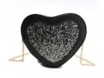 Романтична жіноча сумка у формі серця