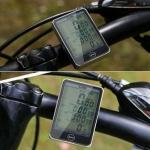 Велокомп'ютер одометр спідометр 27 функцій SD-576A, великий екран