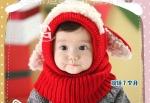 Детская шапочка из мягкой шерсти