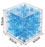 Лабиринт куб 3D 9,5х9,5х9,5см