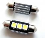 LED C5W CANBUS 39 мм лампа с обманкой, 3 SMD