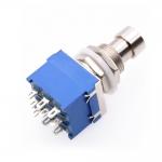 3PDT кнопка, ножной переключатель с фиксацией True Bypass 9pin