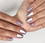 Декоративные блестки глиттер для ногтей нейл-арт 12 цветов, набор, блестки для ногтей