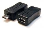 Переходник Mini USB (мама) на Micro USB (папа)