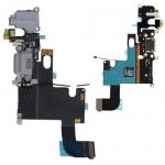 Шлейф 821-1853-A Lightning 3.5мм джек микрофон антенна Apple Iphone 6