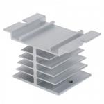 Радиатор охлаждения для твердотельного реле SSR 10 25 40A на DIN-рейку