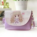 Необычная сумочка с рисунками аниме-принцесс
