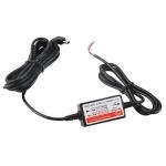 Блок питания для авторегистратора скрытая проводка MiniUSB 5В 2.1А