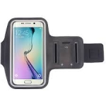 Армбенд, спортивный чехол Samsung Galaxy S5 S6 S7, черный