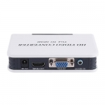Видео аудио конвертер VGA на HDMI в HD HDTV 1080P